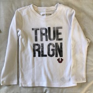 True Religion Boy L/S shirt